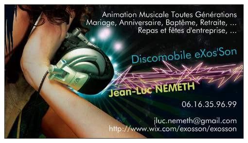 Animation Dj Moselle Mariage Musicale Anniversaire Communion Retraite Kermesse Cocktail Defile